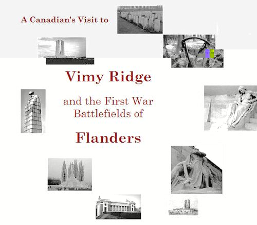Map Of France Vimy.Visiting The Canadian Battlefields Of Vimy Ridge And Flanders